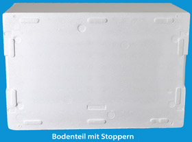 Bodenteil der Box